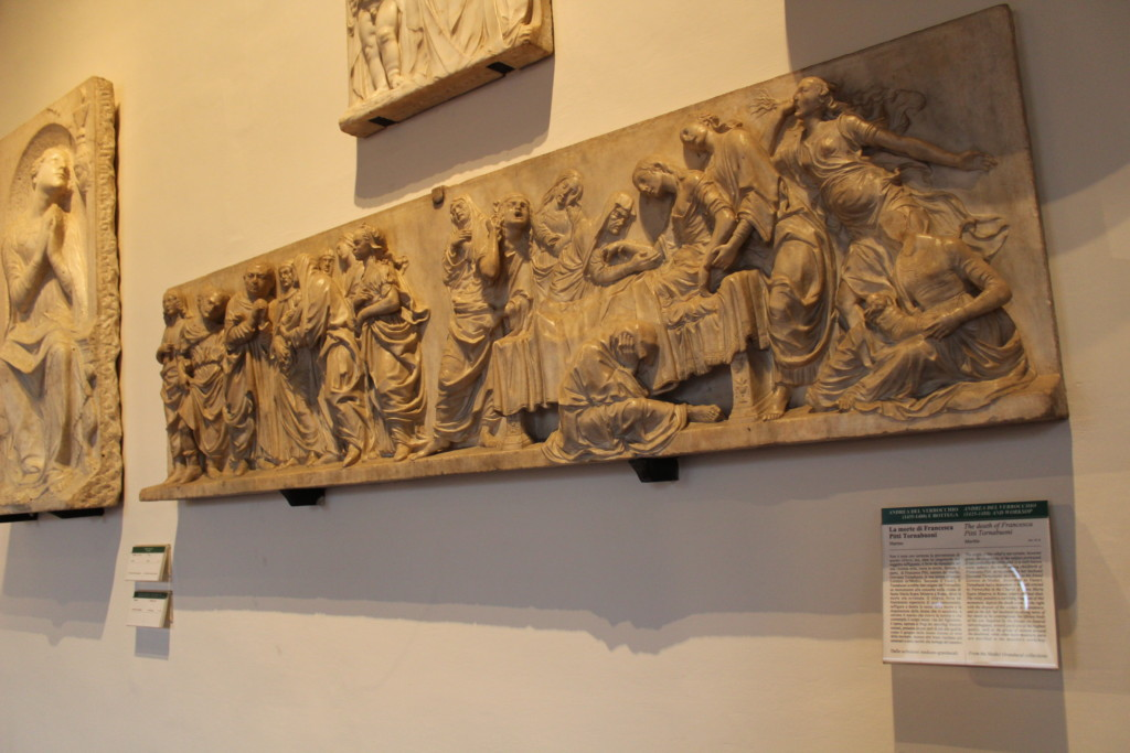 Death of Francesca Pitti Tornabuoni - Verrocchio