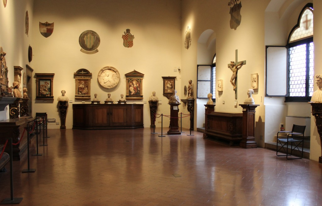 The Verrocchio room